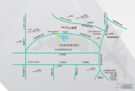 九江柘林湖(庐山西海风景