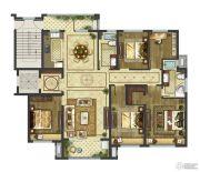 御香园3室2厅0卫123平方米户型图