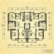 银河湾・3号院3室2厅1卫98平方米户型图