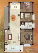 林庄御园四期・澜庭3室2厅1卫0平方米户型图