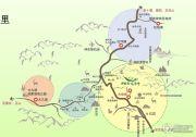 神农架龙降坪国际生态旅游度假区交通图