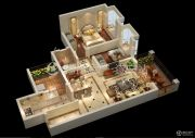 宏升物华天宝五期2室2厅2卫81平方米户型图
