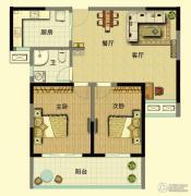山泽园2室2厅1卫0平方米户型图