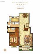 金秋・九里庭院3室2厅2卫229平方米户型图