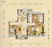 碧桂园翡翠山4室2厅2卫142平方米户型图