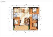 华悦春天3室2厅0卫97平方米户型图