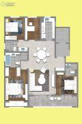 茉莉公馆4室2厅2卫164平方米户型图