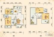 春风玫瑰园4室2厅2卫189平方米户型图