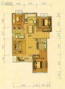 北斗星城・御府Ⅱ期3室2厅2卫116平方米户型图