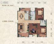和信北郡3室2厅2卫112平方米户型图