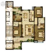 天洲铂悦4室2厅2卫177平方米户型图