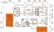 佳兴大厦3室2厅2卫109平方米户型图