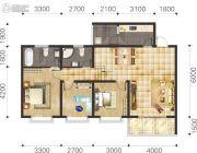 双语雅苑3室2厅2卫88--106平方米户型图