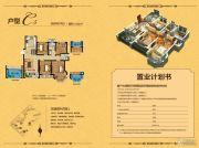 中南世纪雅苑4室2厅2卫120平方米户型图