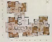 越秀星汇文宇0室0厅0卫0平方米户型图