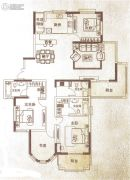 万泰麓溪公馆4室2厅3卫192平方米户型图