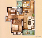 海泉湾2室2厅1卫78平方米户型图