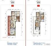 公园19034室2厅4卫177--181平方米户型图