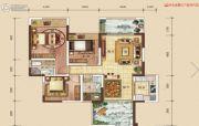 中建・伴山壹号4室2厅2卫98平方米户型图