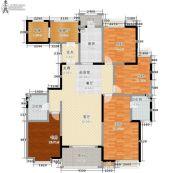 东岭国金中心4室0厅2卫161平方米户型图