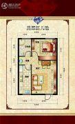 燕都新天地1室1厅0卫59平方米户型图