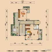 浪琴湾2室0厅1卫88平方米户型图