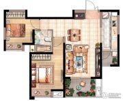 花园里2室1厅1卫0平方米户型图