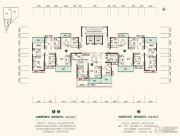 中建・江湾壹号3室2厅2卫108--142平方米户型图