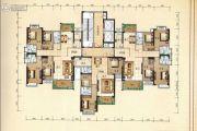 兴业花园4室2厅3卫157平方米户型图