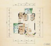 熙岸尚城二期3室2厅2卫138--149平方米户型图