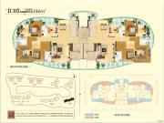 保利国际中心5室2厅3卫192平方米户型图