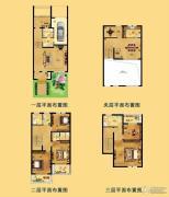 江南一品 别墅342平方米户型图