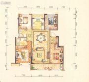 黄岩中梁香缇公馆4室2厅2卫128平方米户型图