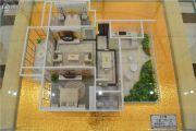 宝丽・盛世阳光3室2厅1卫92平方米户型图