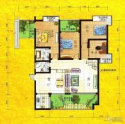 兴达・江山领秀4室2厅2卫148平方米户型图