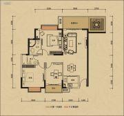 鸿润・叠韵3室0厅0卫117平方米户型图