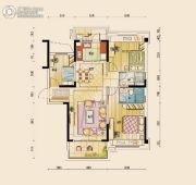 碧桂园公园壹号3室2厅2卫122平方米户型图