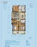 佳源湘湖印象4室2厅2卫135平方米户型图