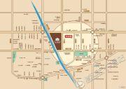 未来东岸华城交通图