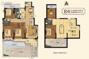 中建・柒号院3室2厅2卫128平方米户型图