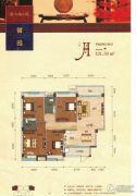 碧园・大城小院4室2厅2卫121平方米户型图