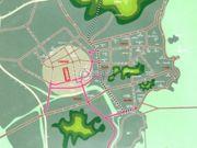 钰海绿洲交通图