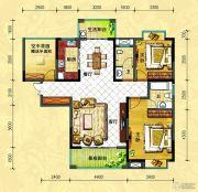 中央新城2室2厅2卫130--131平方米户型图