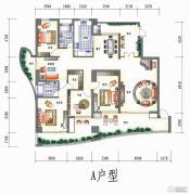 三江国际花园5室2厅2卫212平方米户型图