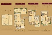 山水豪廷361--397平方米户型图