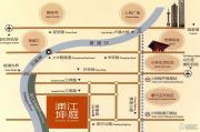 浦江坤庭交通图