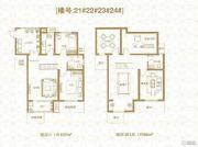 棠悦3室2厅2卫175平方米户型图
