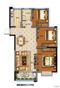 福园小区3室2厅1卫112平方米户型图