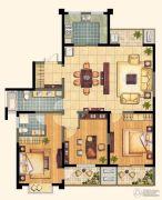 芙蓉山庄3室2厅2卫150平方米户型图