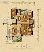 尚东一品6室2厅3卫0平方米户型图
